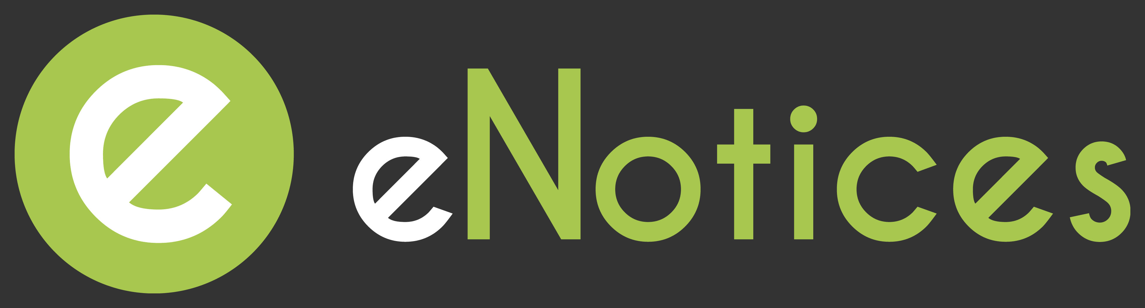 eNotices logo